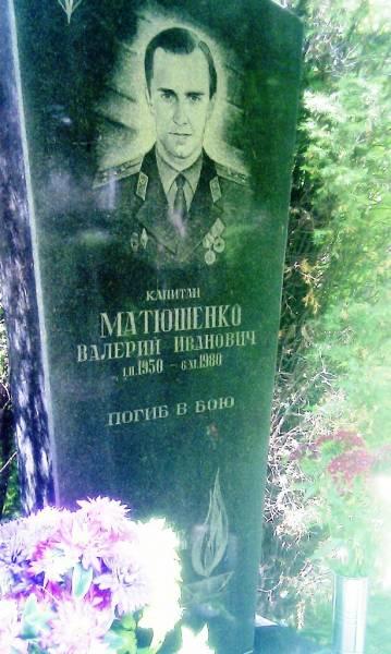 г.Чернигов Место захоронения к-на Матюшенко В.И.